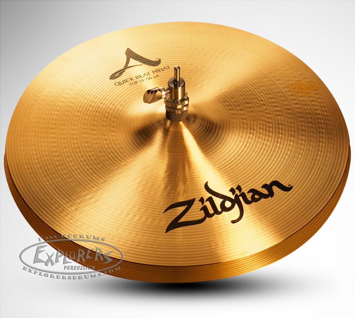 zildjian a series 14 quick beat hi hat cymbal pair. Black Bedroom Furniture Sets. Home Design Ideas