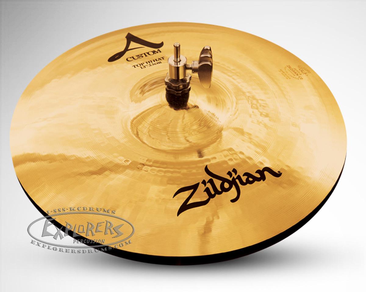 zildjian a custom 14 hi hat cymbal pair. Black Bedroom Furniture Sets. Home Design Ideas