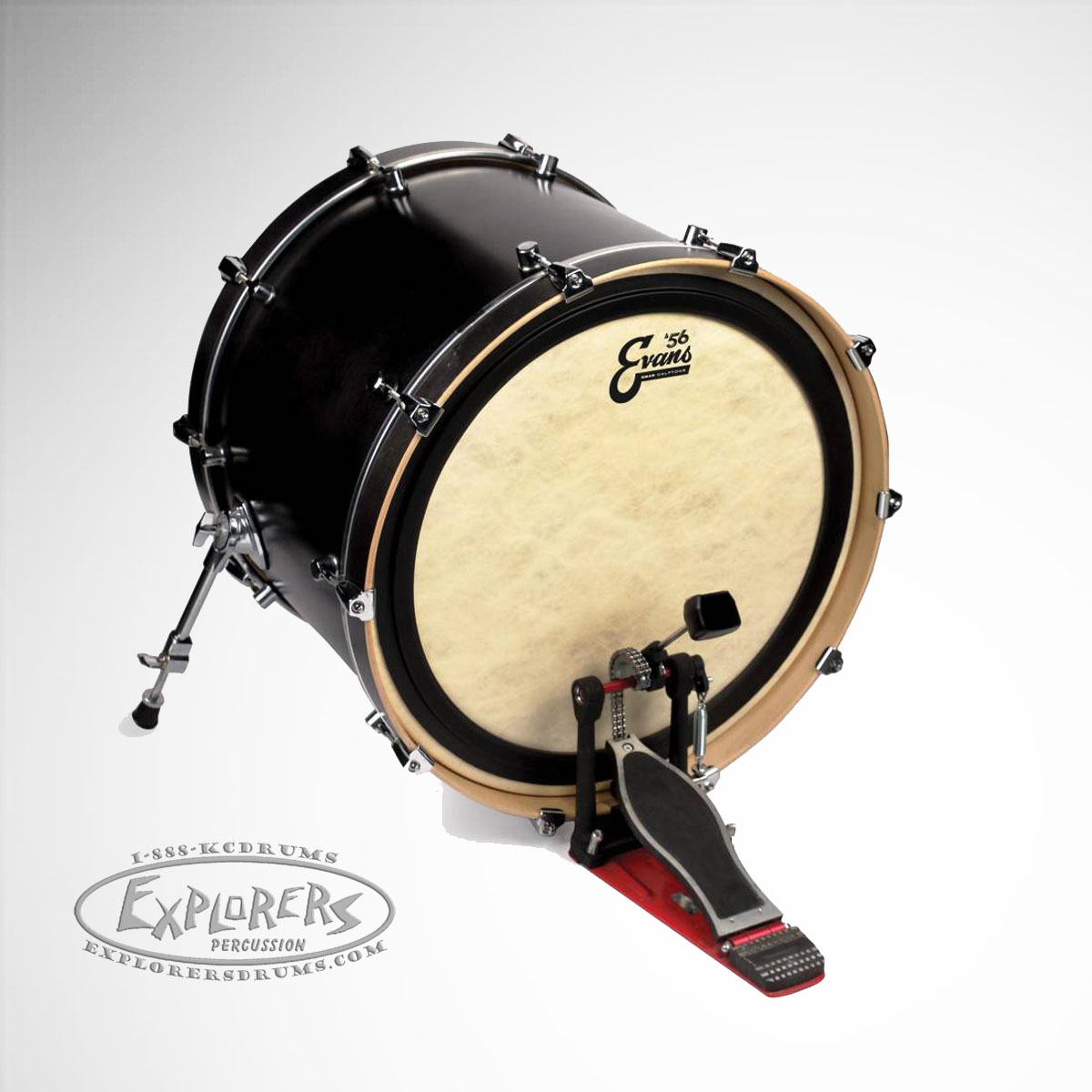 evans 56 39 calftone emad single ply bass drum head. Black Bedroom Furniture Sets. Home Design Ideas