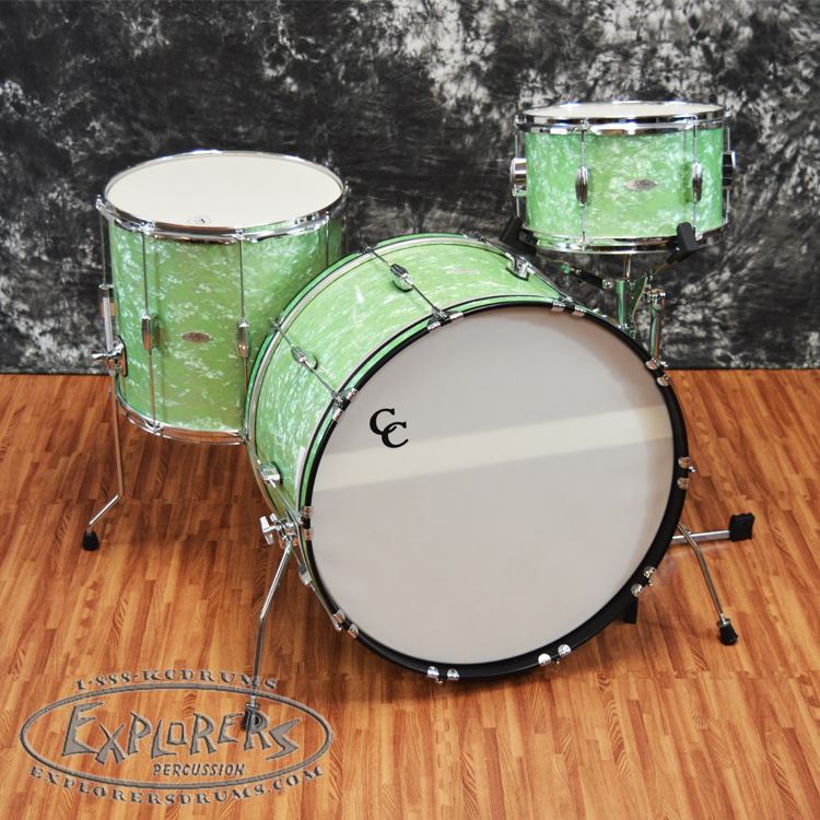 C&C Player Date 2 Shell Pack - Mint Marine Pearl Finish