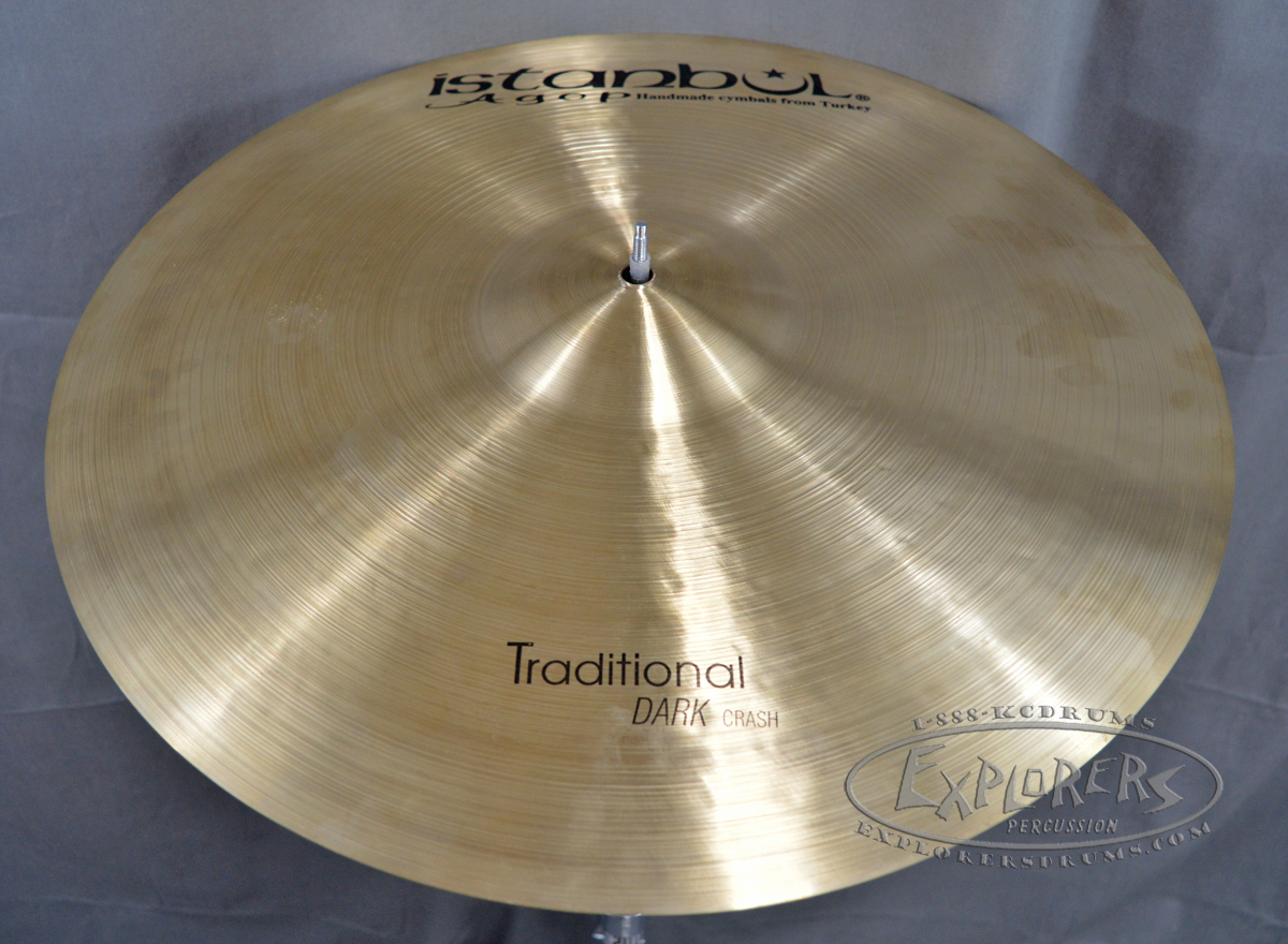 istanbul agop traditional series dark crash cymbal. Black Bedroom Furniture Sets. Home Design Ideas