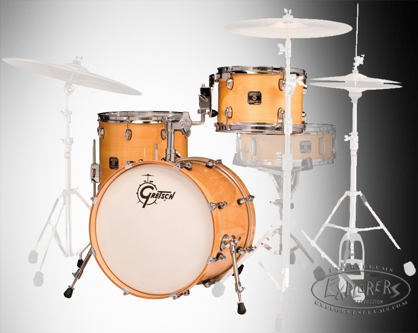 gretsch catalina club jazz 3pc shell pack with 18 bass drum. Black Bedroom Furniture Sets. Home Design Ideas