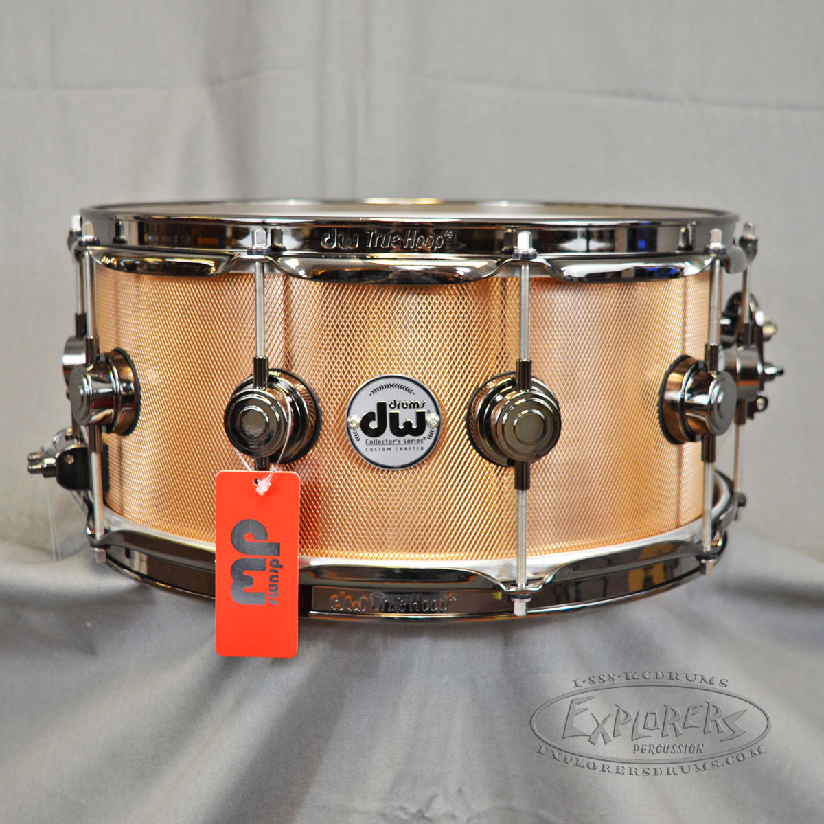 DW Collector Series 6.5x14 Knurled Bronze Snare Drum W ...