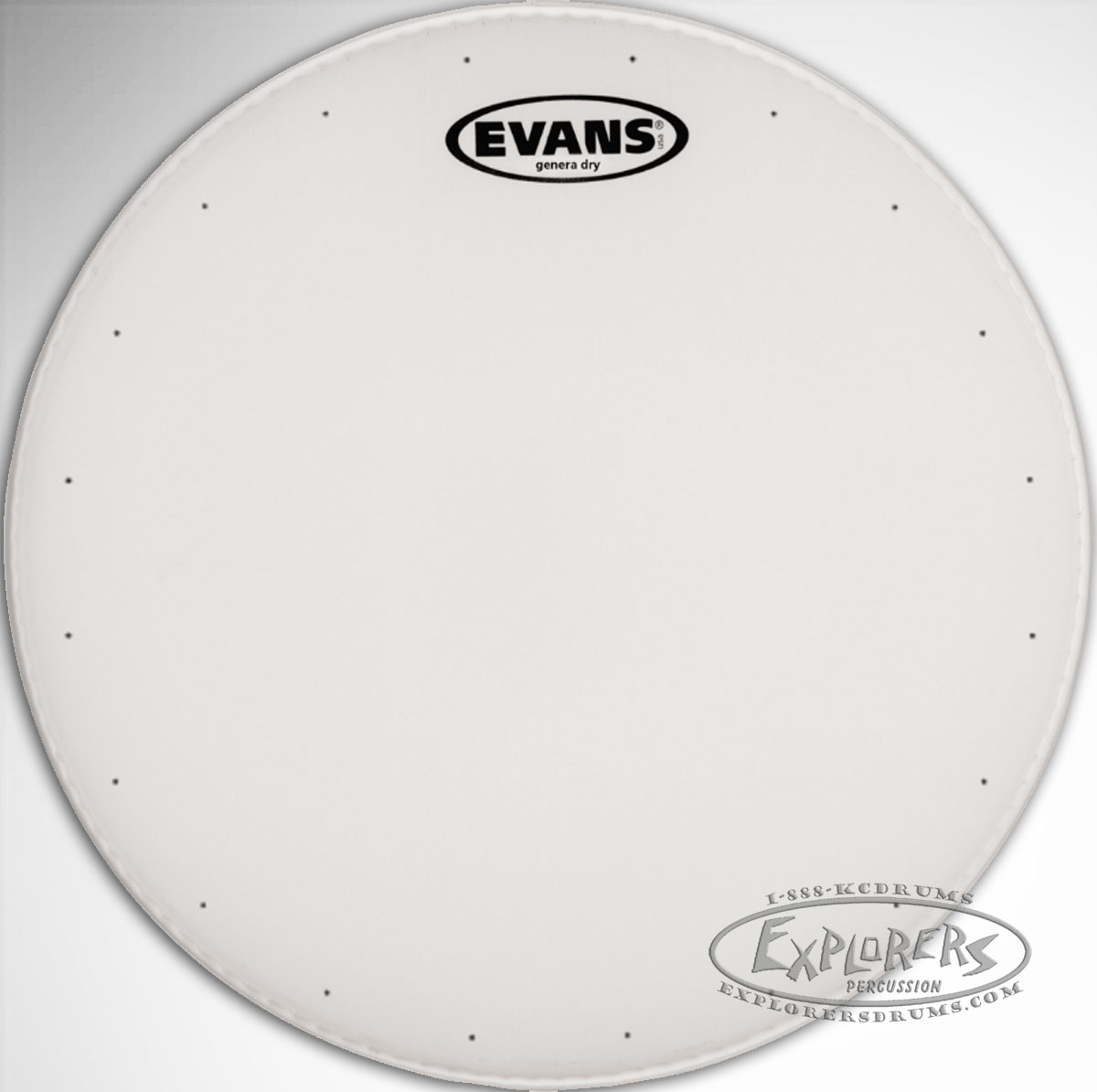 evans genera dry coated single ply batter drum head. Black Bedroom Furniture Sets. Home Design Ideas