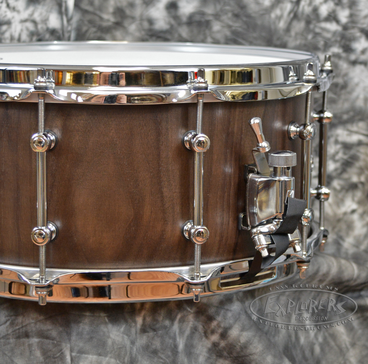 tama slp series g walnut 6 5 x 14 snare drum. Black Bedroom Furniture Sets. Home Design Ideas