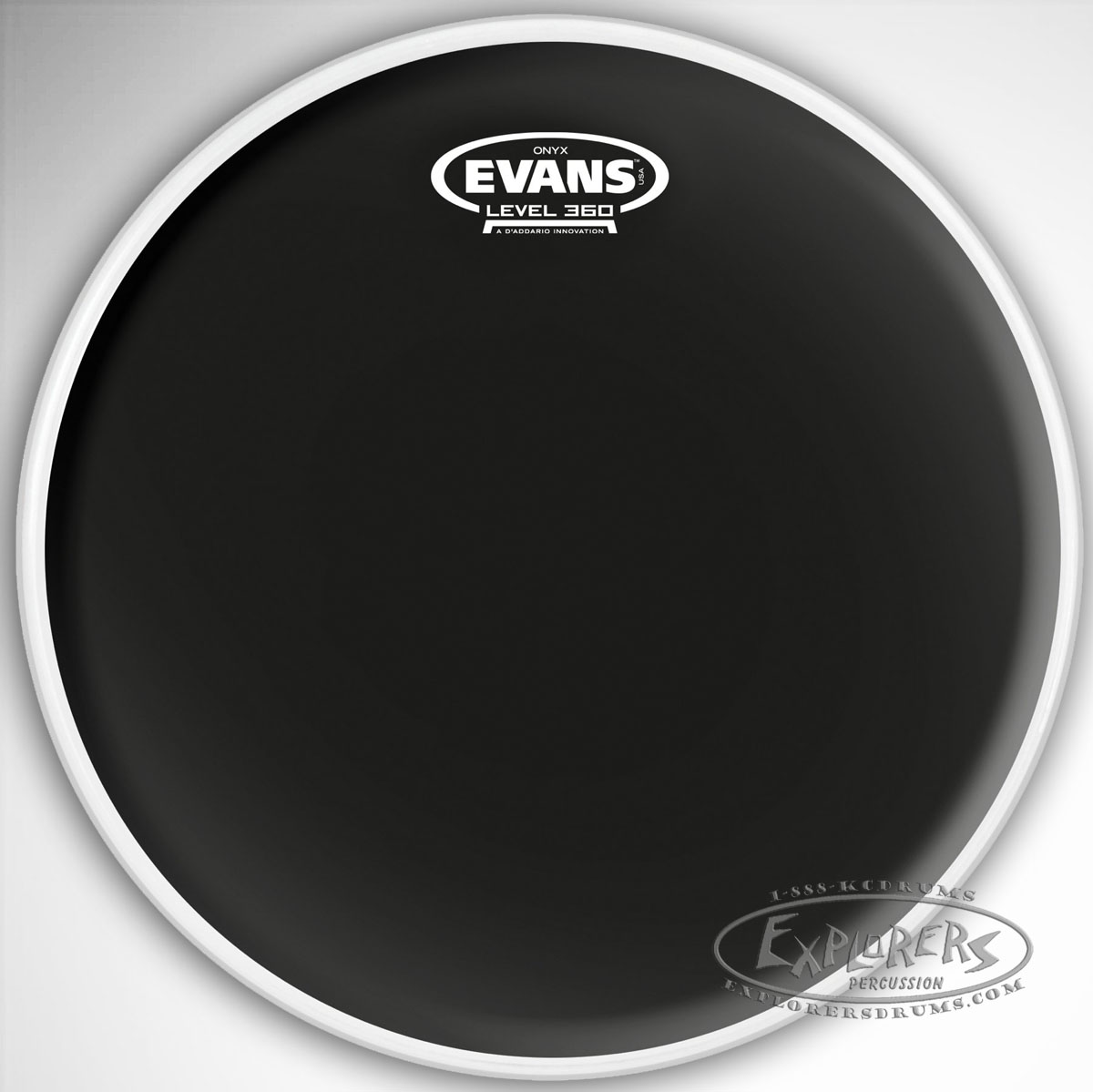 evans onyx 2 ply batter frosted drum head. Black Bedroom Furniture Sets. Home Design Ideas