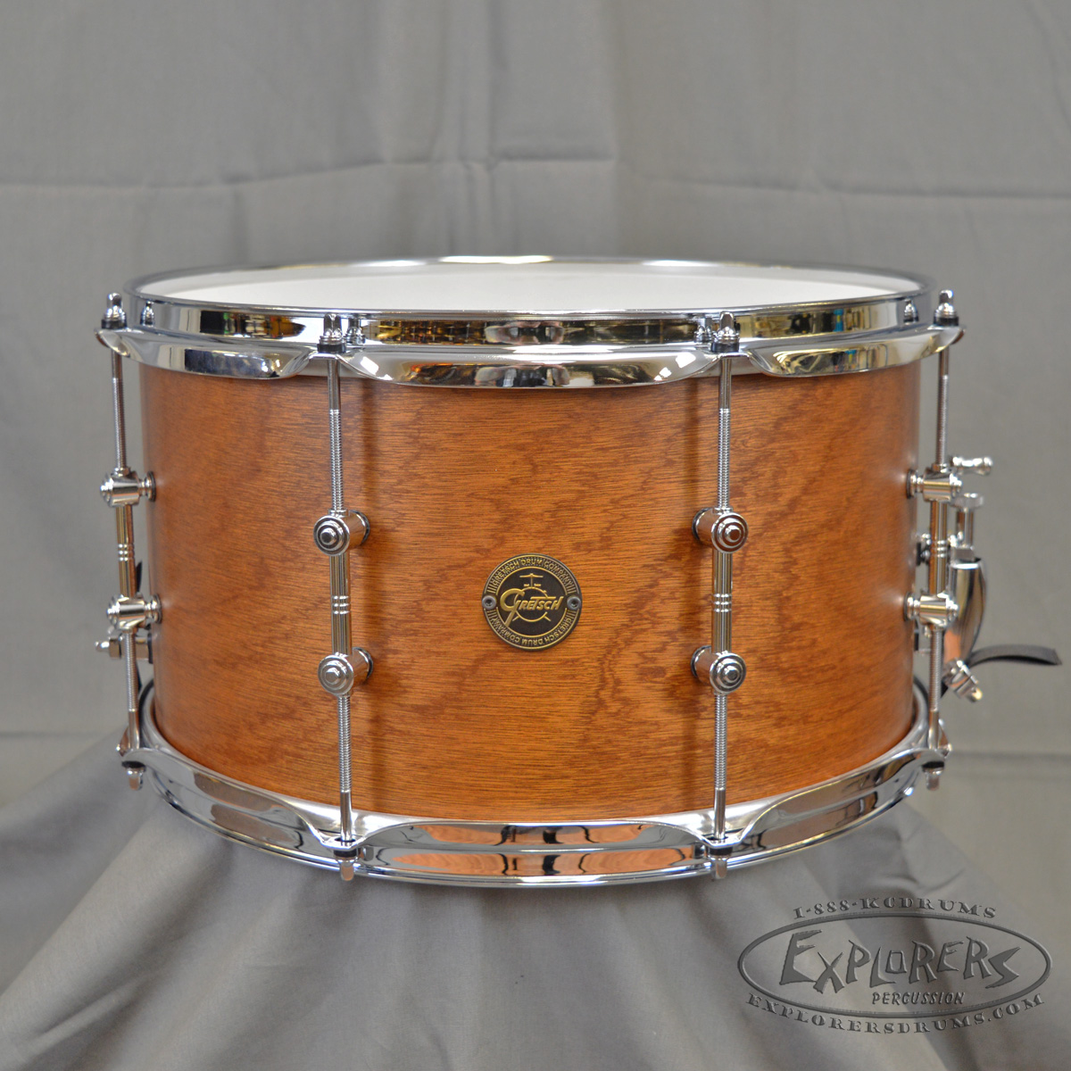 gretsch 8x14 the swamp dawg mahogany snare drum. Black Bedroom Furniture Sets. Home Design Ideas
