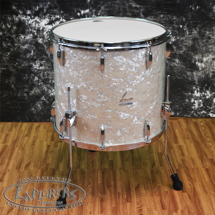 Sonor Vintage Series 18x16 Floor Tom Vintage White Pearl