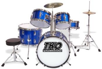 tko 5 piece junior drum set. Black Bedroom Furniture Sets. Home Design Ideas