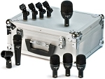 Audix Fusion Series 5 Piece Mic Set