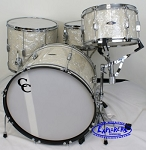 C&C Drum Set Player Date 1 Aged Marine Pearl with Snare Drum
