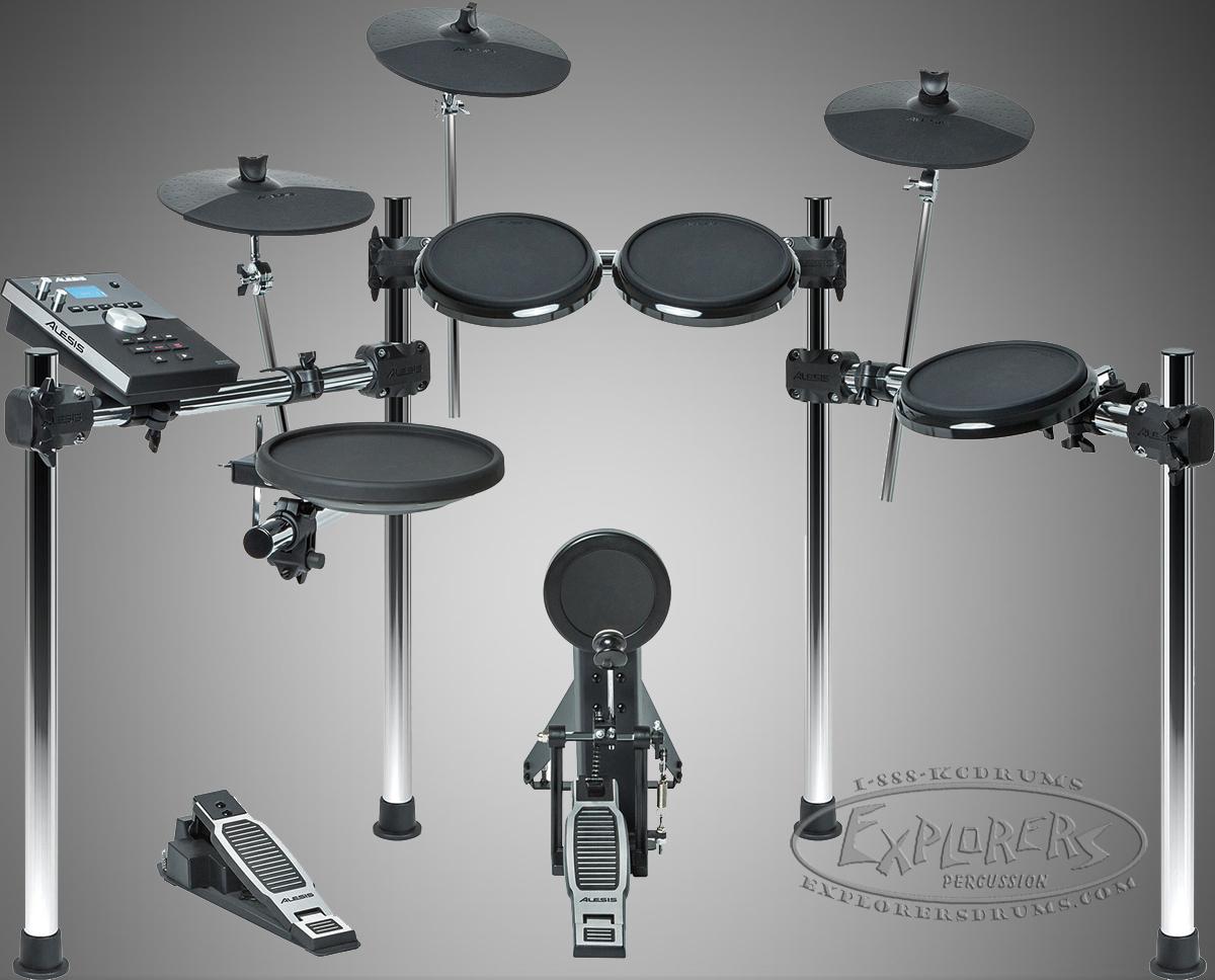 Alesis COMMAND Series 8-Piece Electronic Drum Set with Module