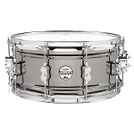 PDP 6.5x14 Concept Series Black Nickel over Steel Snare with Chrome Hardware