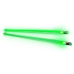 Firestix Green Light Up Drum Sticks