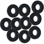Gibraltar Abs Black Tension Rod Washer 10 Pack
