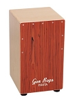 Gon Bops Cajon with Mahogany  Faceplate & Free Gig Bag