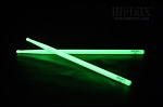 Hiptrix Glow In Dark Green Sticks