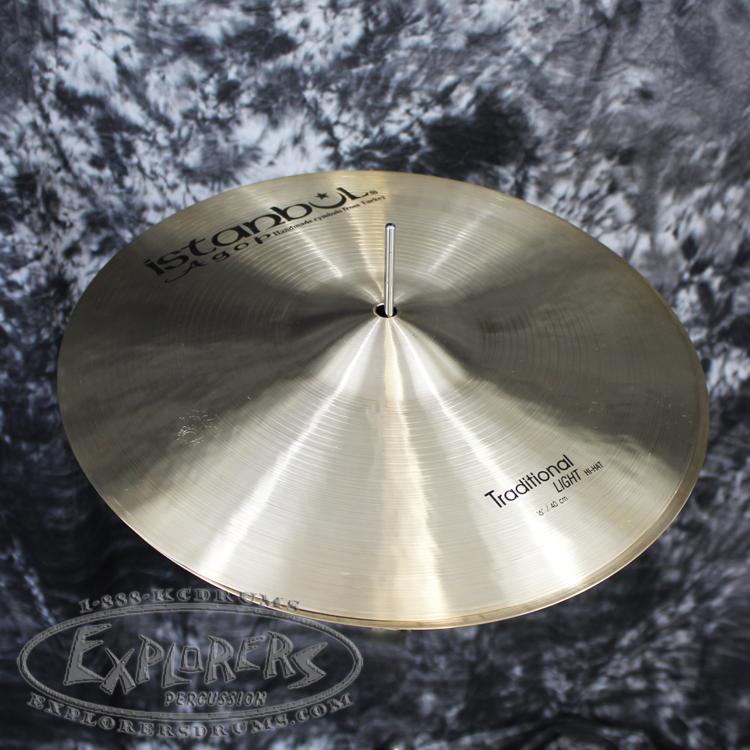 istanbul agop 16 traditional series light hi hat cymbals. Black Bedroom Furniture Sets. Home Design Ideas