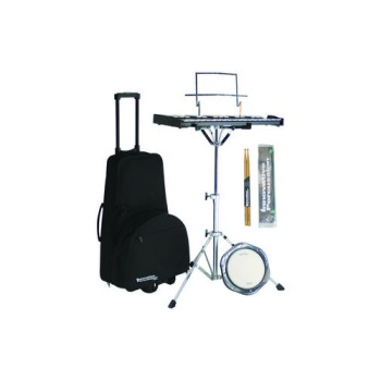 Innovative percussion snare bell kit with rolling cart for Yamaha student bell kit with backpack and rolling cart