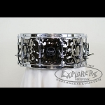 Mapex Armory 6.5x14 Daisycutter Hammered Steel Snare Drum