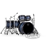 Mapex Saturn V MH Exotic Shell Pack Drum Set - Deep Water Ash Burl