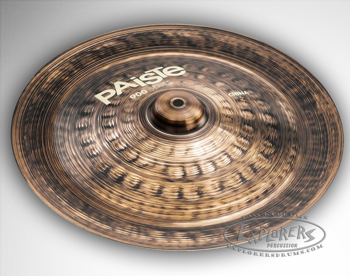 paiste 900 series china effects cymbal. Black Bedroom Furniture Sets. Home Design Ideas