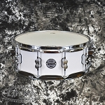 PDP 5.5x14 Concept Maple Snare Drum in Pearlescent White Lacquer