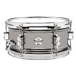 PDP Concept Series 6x12 Black Nickel Over Steel Snare Drum