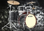 Tama Limited Edition Yesteryear Classic Starclassic Performer Birch/Bubinga Shell Pack in Black Star Sparkle