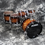 Tama Starclassic Performer Birch/Bubinga 5 Piece Shell Pack - Molten Brown Burst