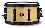 Sonor 7x13 Black Mamba Snare Drum - Natural Finish