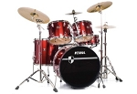 Tama Imperialstar 5-piece Drumset with Hardware and Cymbals