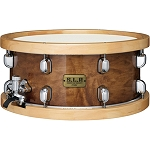 Tama SLP 6.5x14 Maple Sienna Snare Drum with Maple Hoops