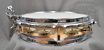 Sonor Safari Jungle 2x10 Snare Drum with Jingles