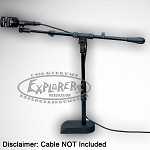 Audix D6 Kick Drum Mic w/ Custom Stand