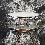 DW Design Series 5.5x14 Clear Acrylic Snare Drum
