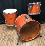 Pearl Masters Custom Extra 3 Piece Maple Shell Pack Drum Set - Used