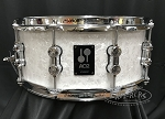Sonor Snare Drum AQ2 Series 6x14 Maple Shell - White Pearl