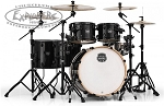 Mapex Armory 6-Piece Studioease Fast Shell Pack - Transparent Black - Birch/Maple/Birch