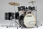 Tama Superstar Classic Maple 7 Piece Drum Set in Transparent Black Burst