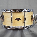 Craviotto Custom Snare Drum Solid Shell Diamond Cast Series 6.5x14 Maple - Natural Finish