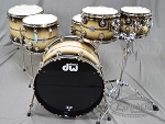 DW Drum Set Collector's Series 45th Anniversary 6 Piece Shell Pack #41 Of 145 Made - Nickel Hardware