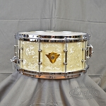 DW Classic 6.5x14 Vintage Marine W/ Tube Lugs and Die Cast Hoops Chrome Hardware