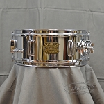 Dixon 5.5x12 Chrome Over Steel Snare Drum With Tom Mount