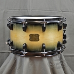 Dixon Classic 8x14 6-ply Maple Bombshell Black Burst Gloss