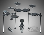 Alesis FORGE Series 8-Piece Electronic Drum Set with Module