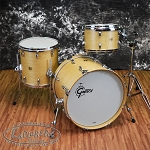 Gretsch USA Custom Maple 3 Piece Drum Set - Satin Vintage Blonde