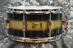 Pork Pie Hip Pig 6.5 x 14 Black Gold Duco Mahogany Snare Drum