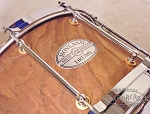 Hovland Custom Solid Trunk Walnut Snare Drums