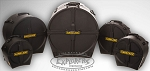 Tama HARDCASE 5 Piece Rock Fusion 3 Hard Shell Drum Cases Set